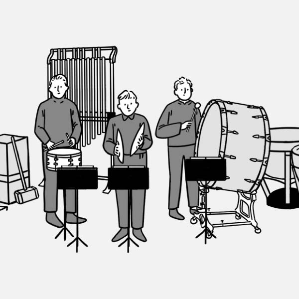 Section 06 percussion