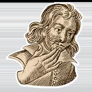 «Молю» — стикер для Viber и Telegram из набора «Руки Булвера»