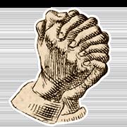 «Раскаиваюсь» — стикер для Viber и Telegram из набора «Руки Булвера»