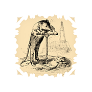 «Мышь-землеройка» — стикер для Viber и Telegram из набора «Животные Гранвиля»