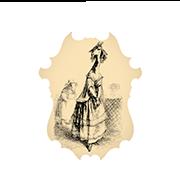 «Жирафа» — стикер для Viber и Telegram из набора «Животные Гранвиля»