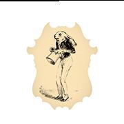 «Сын мелкого министерского чиновника, точная копия отца» — стикер для Viber и Telegram из набора «Животные Гранвиля»