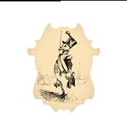«Капрал, произведенный в сержанты» — стикер для Viber и Telegram из набора «Животные Гранвиля»